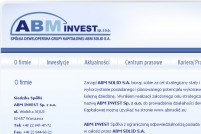 ABM INVEST Sp. z o.o. - Spółka developerska